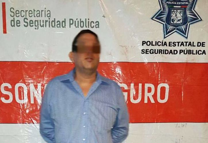"""Rodolfo López Ibarra """"Nito Amavizca"""", fue detenido el pasado martes. (@PespSonora)"""