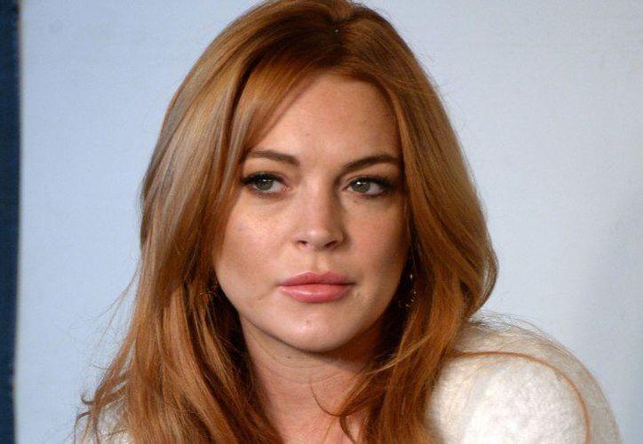Lindsay Lohan confesó que una serpiente la mordió. (Contexto/Internet)