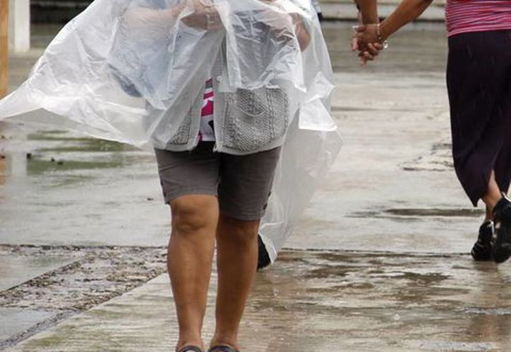 Ayer se registraron lluvias durante buena parte del día. (SIPSE)