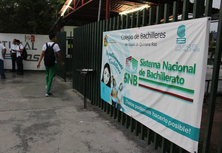 El próximo lunes, las clases se impartirán de manera normal en los 49 colegios.(Foto: Eddy Bonilla)
