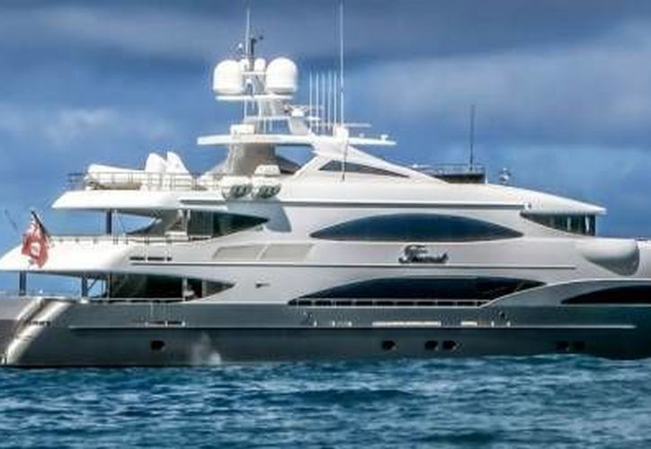 Trinity Yachts, el fabricante estadounidense de Tsumat, anunció en 2012 la entrega del yate a su propietario en un boletín de prensa que omitió identificar al dueño por nombre. (aristeguinoticias.com)