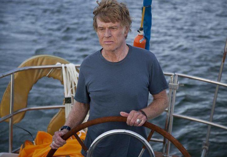 """""""All is Lost"""", protagonizada por Robert Redford, ha sido bien acogida en festivales internacionales de cine. (Facebook oficial)"""