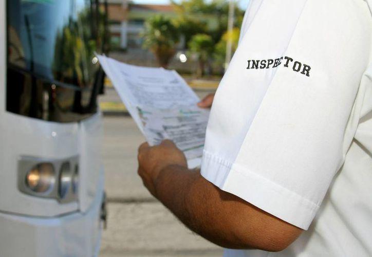 La Sintra anunció sanciones para los operadores de transporte de pasajeros que operen de manera irregular.  (Archivo/SIPSE)