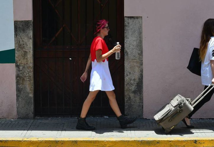 El calor en Yucatán propicia un alto consumo de líquidos. (SIPSE)