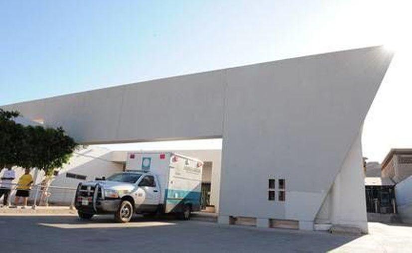 Fachada del Hospital General de Guaymas, Sonora. (olasonora.com)