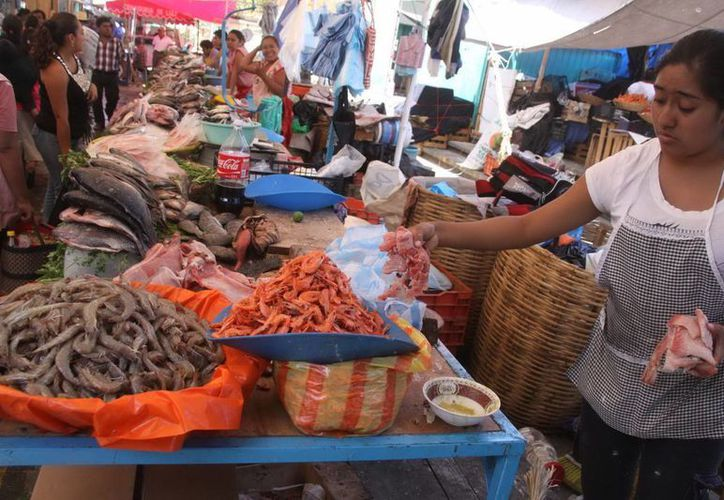 Los productos del mar contienen nutrientes que están implicados en el crecimiento sano de niños y jóvenes. (Archivo/Notimex)