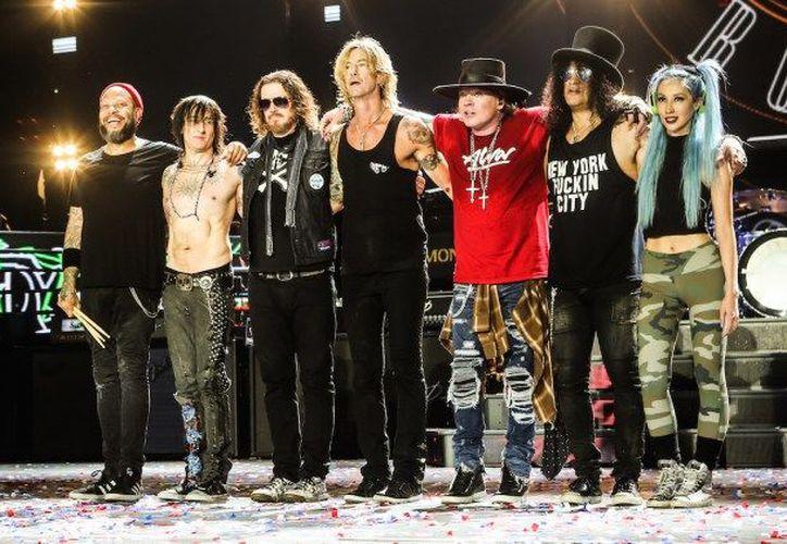 Guns N' Roses se presentará en Monterrey el 3 de noviembre próximo en el Parque Fundidora.  (Cambio16)