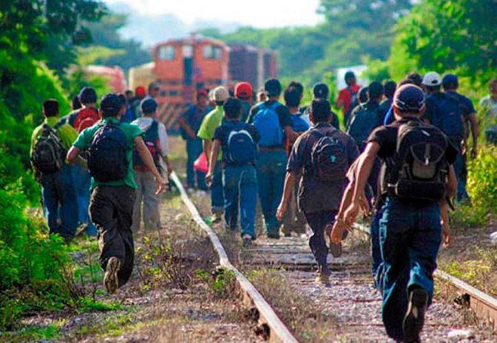 Un grupo de migrantes detenidos en Chiapas amenazaron con hacer una huelga de hambre. La imagen es de contexto. (diariojuridico.com.mx)