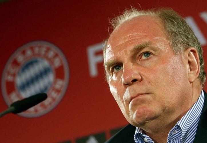 En la víspera del juego de semifinal de Europa: Bayern-Barza, Hoeness podría terminar preso y sin derecho a fianza. (Agencias)