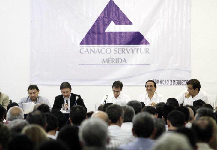 El organismo empresarial busca su crecimiento económico en la entidad. (Christian Ayala/SIPSE)