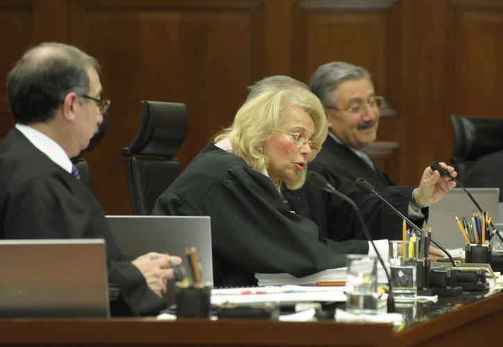 La ministra asegura que se violó la presunción de inocencia de Cassez. (Notimex)