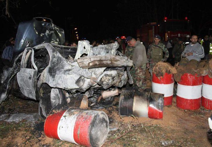 Las Fuerzas Armadas dijeron que el atentado estaba dirigido contra ellos con el fin de intimidar y sembrar el caos. (EFE)