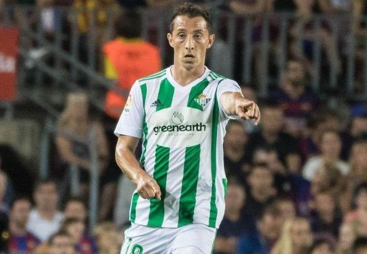 Los verdiblancos están en el quinto lugar de La Liga con 56 puntos, a 10 de distancia del Valencia, que irá a Champions League. (Vanguardia MX)