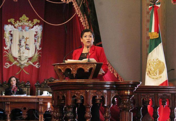 Hasta hace unos días, Luz Govea era una desconocida en la escena política nacional. (reportebajio.com)