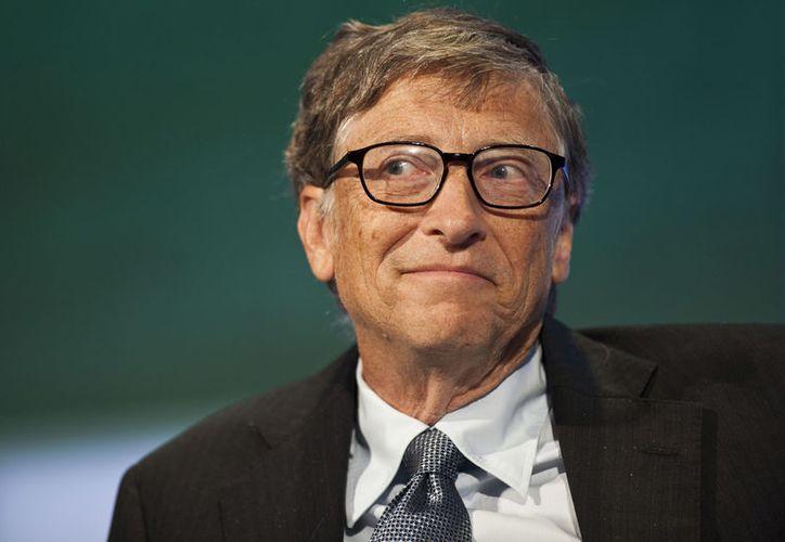 Bill Gates, encabezó la lista de las personas más ricas del mundo. (Hoy Digital).