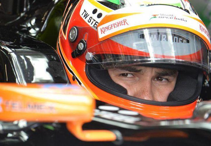 'Checo' Pérez sacó la peor parte del choque con Felipe Massa en el Gran Premio de Canadá. (Foto: AP)