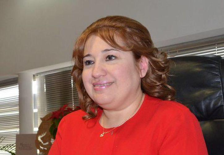 Celia Rivas Rodríguez informó que Ligia Canto ha recibido el apoyo de la Fiscalía del Estado y solo esperan los trámites para actuar penalmente. (Milenio Novedades)