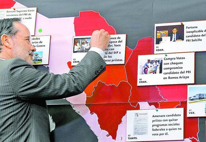 Acusa a Madero que no se ha dado respuesta a denuncias electorales. (Milenio)
