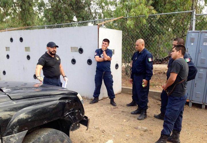 El Escuadrón K9 de la FGE Yucatán capacitó a perros policías de Tijuana. (Fotos cortesía)