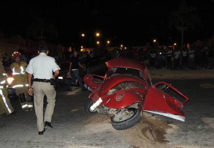 Alcohólicos Anónimos señaló que en Yucatán la incidencia de lesionados en accidentes por culpa de conductores alcoholizados creció 60% en los últimos dos años. (Archivo SIPSE)