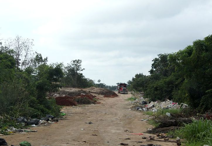 Solicitaron la pavimentación de un camino saca cosechas de aproximadamente tres kilómetros. (Daniel Tejada)