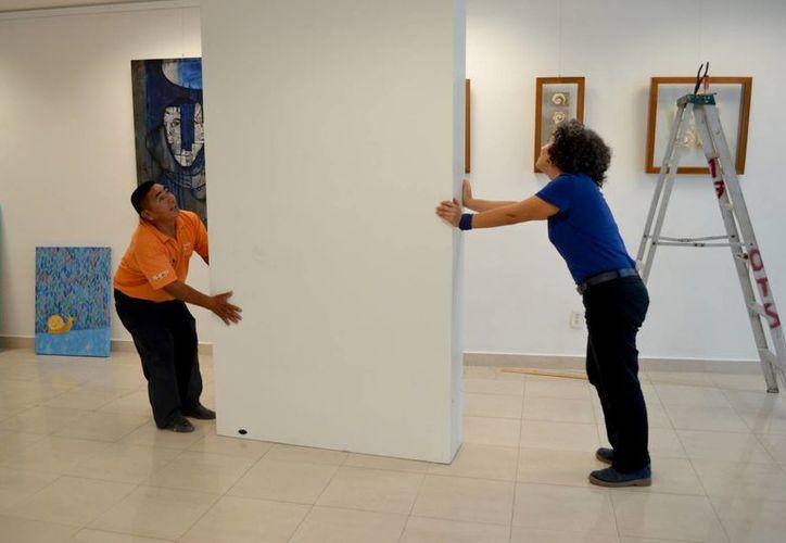 Exponen más de 20 artistas en DiversidArte en Cancún. (Redacción/SIPSE)