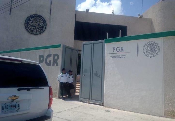 La delegación de la PGR iniciará la investigación sobre la pérdida de las armas de fuego. (Redacción/SIPSE)