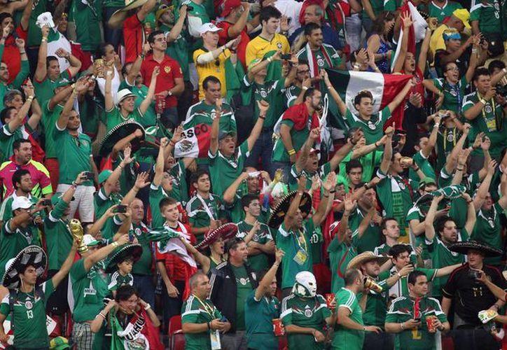 El peculiar grito mexicano ha desatado polémica en el Mundial. (Notimex)