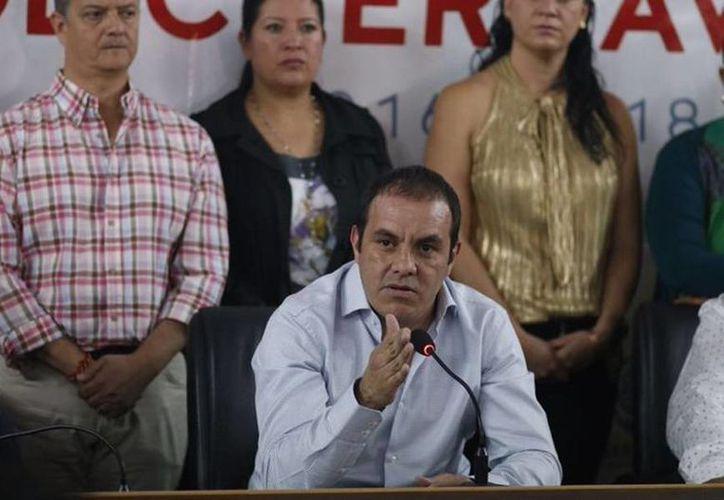 Cuauhtémoc Blanco aseguró que no defraudará a la gente, por lo que no dejará el cargo de alcalde de Cuernavaca. (twitter.com/cuauhtemocb10)