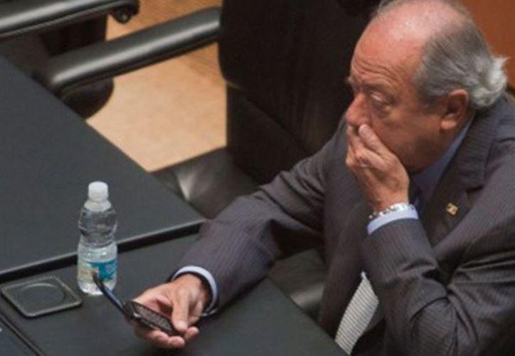 Romero Deschamps presencio el arresto de su abogado y amigo Juan Collado. (Foto: AP)