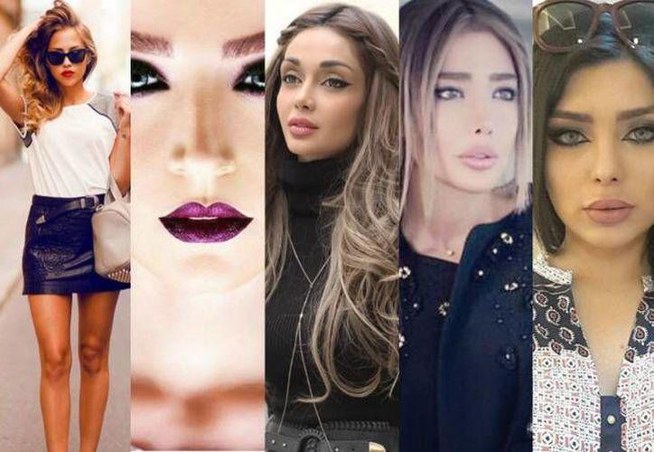 Las modelos y sus colaboradores están relacionados con negocios de bodas, fotografía y salones de belleza. (Internet)