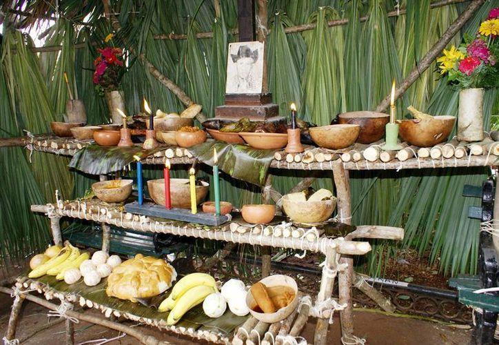 Los sabores, olores y colores inundarán el Centro Histórico con la celebración del Hanal Pixán. (Milenio Novedades)