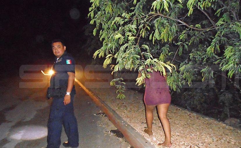 Aparentemente la mujer se encontraba intoxicada en el momento de la agresión. (SIPSE)