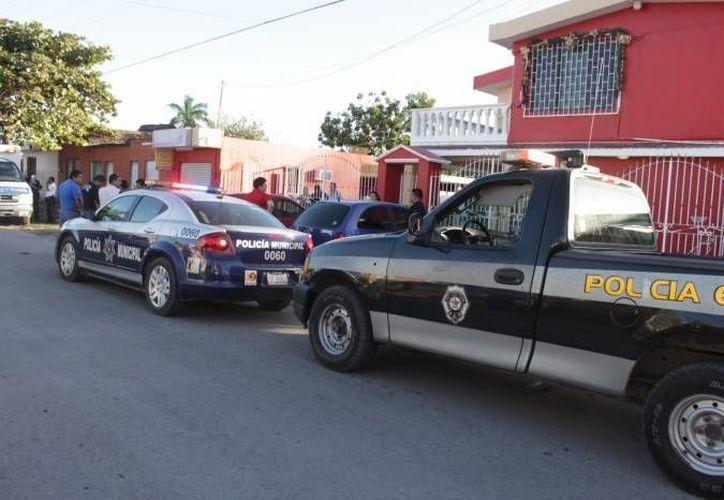 Autoridades trabajan en conjunto para disminuir los índices delictivos. (Harold Alcocer/SIPSE)
