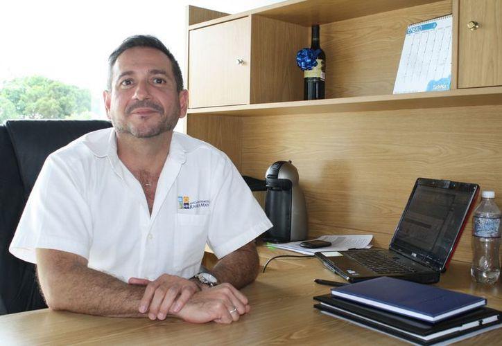Manuel Paredes Mendoza, director general de la Asociación de Hoteles de la Riviera Maya. (Yenny Gaona/SIPSE)