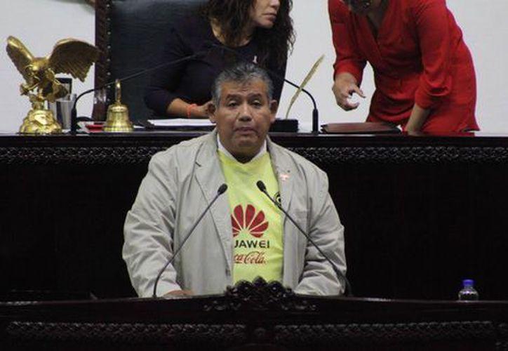 Diputado Local del Partido Acción Nacional (PAN) de Hidalgo del Jorge Miguel García. (Milenio)