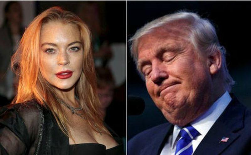 Lindsay Lohan se lanzó a Twitter para defender a Donald Trump — VENEZUELA