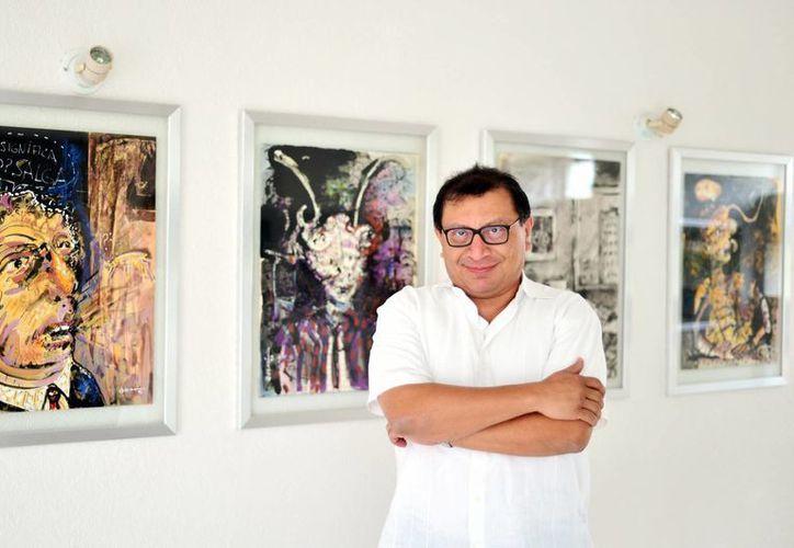 Arsenio Rosado Franco es psiquiatra, pero también disfruta ejercer la docencia en Mérida. (Milenio Novedades)