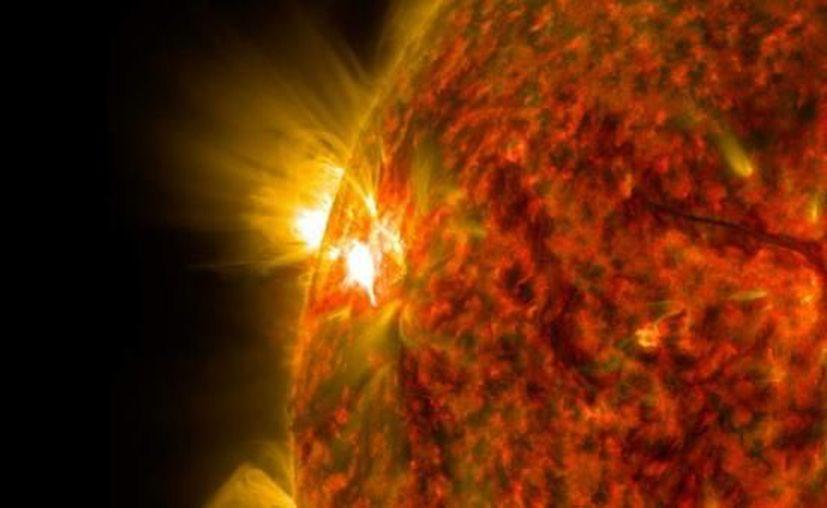 La predicción del ciclo solar ayuda a los científicos a hacerse una idea de la frecuencia. (NASA)