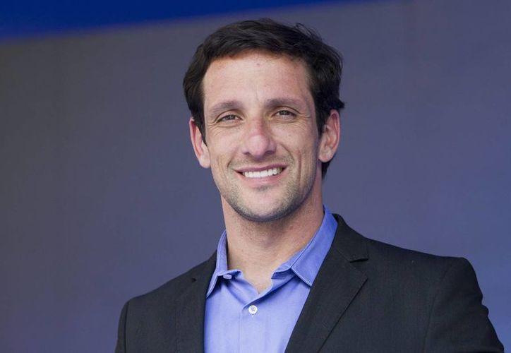 Juliano Belletti, ex jugador del Barcelona, está de visita en México. (Notimex)