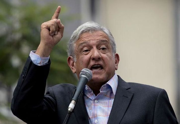 Por primera vez López Obrador pide alianza entre izquierdistas (Foto: AFP)