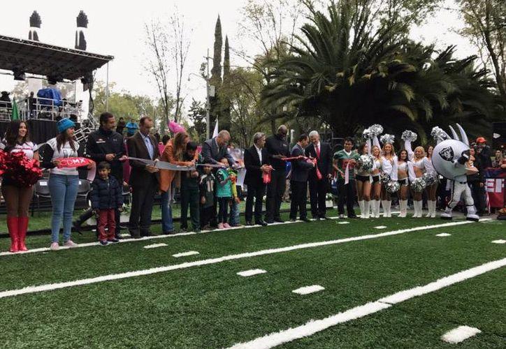Este sábado,Miguel Ángel Mancera inauguró el festival que durará tres días en la Ciudad de México.(Erika Montoya/Milenio Digital)