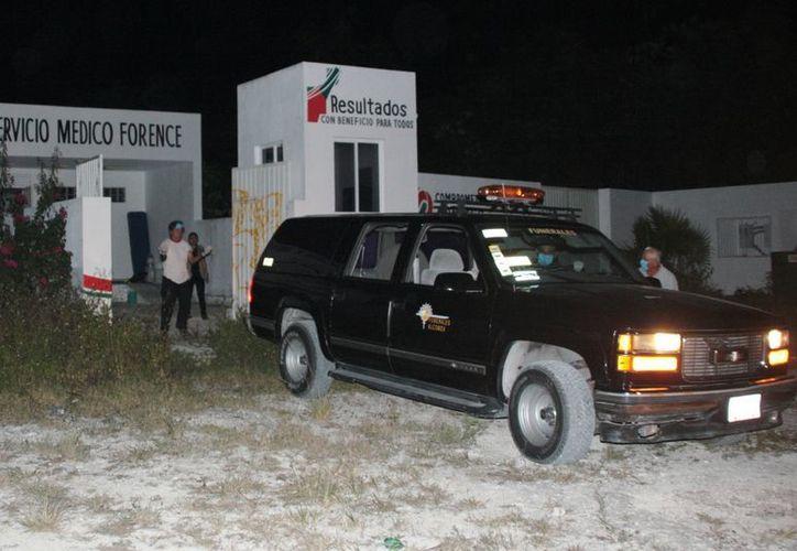 La necropsia de ley fue efectuada por personal del Servicio Médico Forense (Semefo). (Julián Miranda/SIPSE)