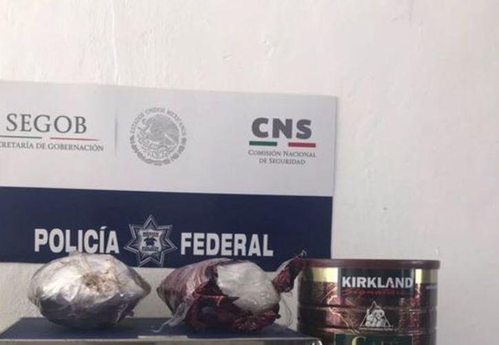 La mercancia fue puesta a disposición de la Procuraduría General de la República (PGR) para que continúe con la investigación del caso. (SIPSE)