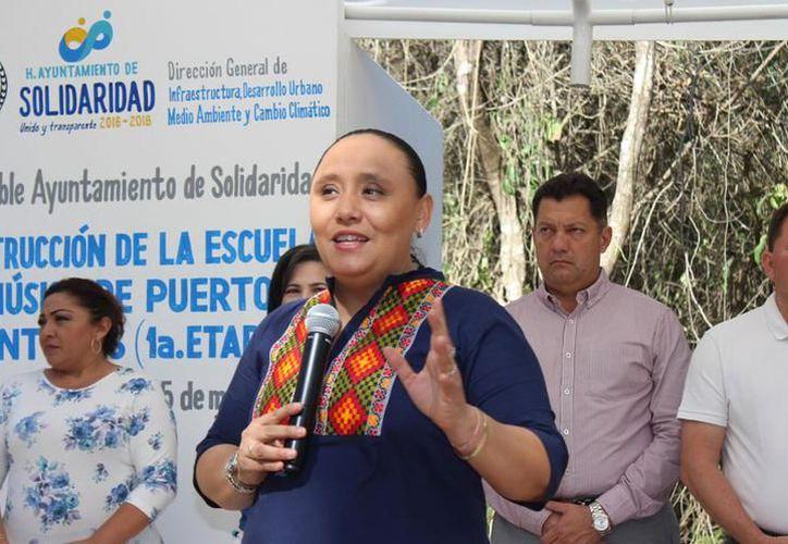 La participación en Quintana Roo fue histórica, nunca se había rebasado el 50% global, aseguró Cristina Torres. (foto: SIPSE)
