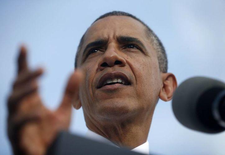 Obama criticó al presidente de la Cámara de Representantes por no convocar una votación para financiar la reapertura del gobierno sin precondición alguna. (Agencias)