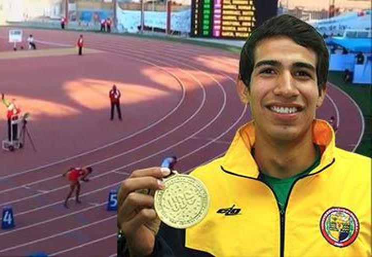 Tonatiú López es un atleta de 19 años nacido en Sonora. (Universidad de Sonora).