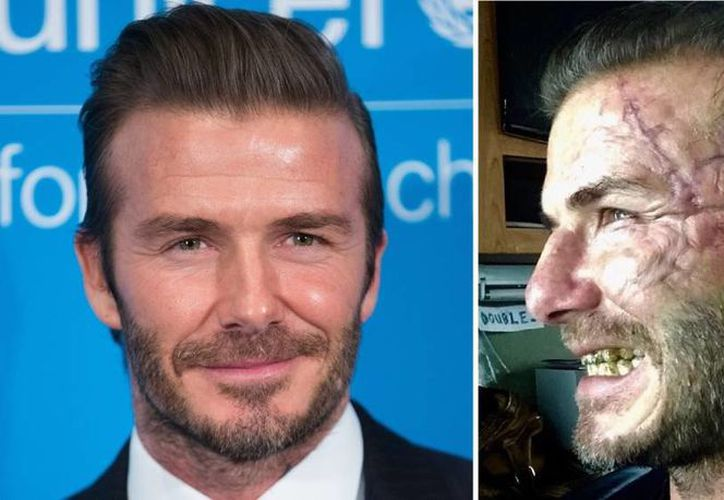 David Beckham, sorprendió a sus seguidores en Instagram al aparecer con el rostro desfigurado. (Vanguardia).