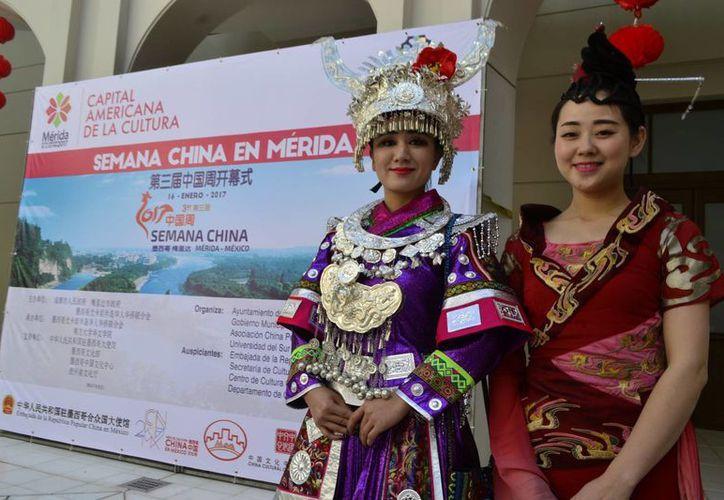 China y Mérida estrechan cada vez más sus lazos educativos y artísticos. Este lunes dio inicio la Semana de China en Mérida. (Fotos: Daniel Sandoval/SIPSE)