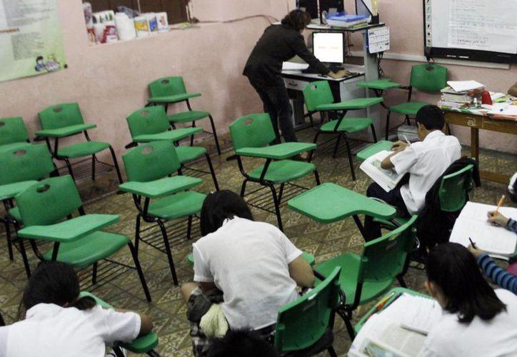 Las clases se impartieron a pesar del ausentismo en algunas escuelas de Mérida. (SIPSE)